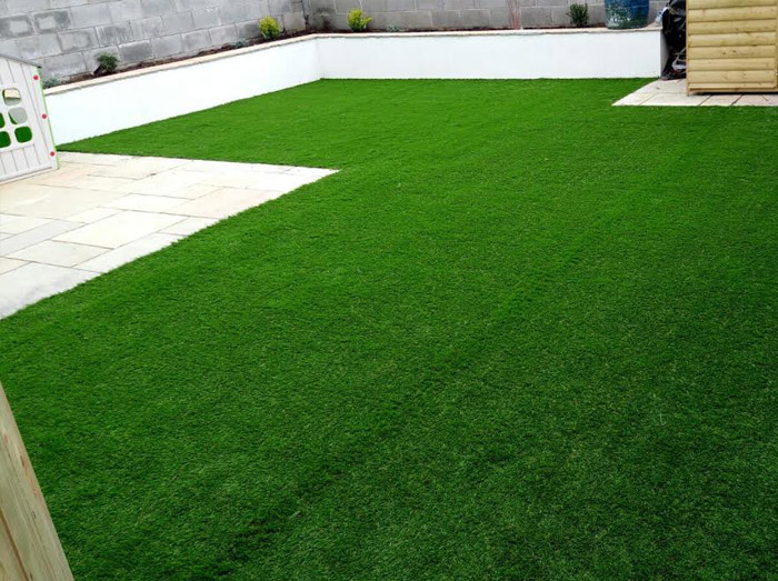 Residential Garden - Artificial Grass, Ireland