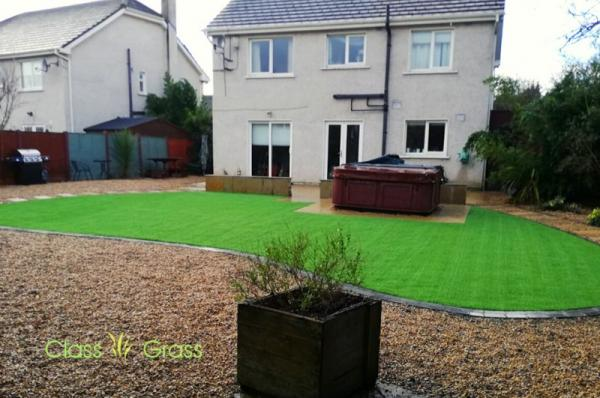 Stunning Transformation - Artificial lawn for Front yard