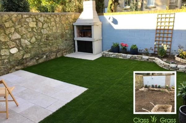Super Transformation with Artificial Grass in Dublin