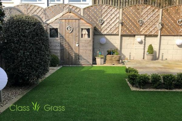 Another Class Artificial Grass Garden in Dublin