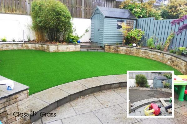 ​Artificial Grass Dublin Garden