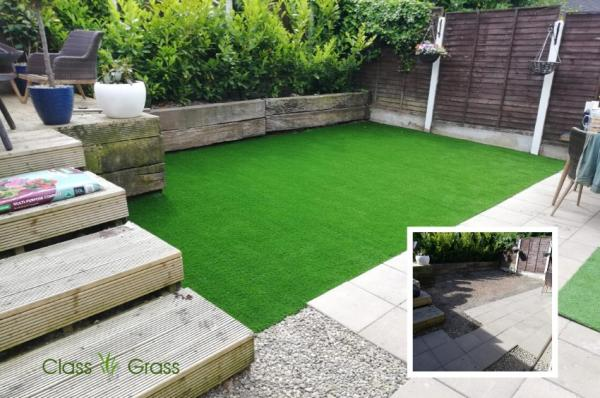 Artificial Grass Garden in Munster