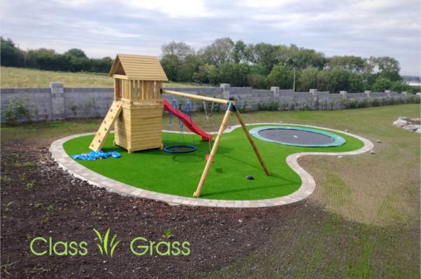 artificial grass playground claregalway