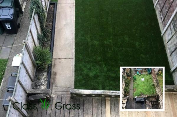 Dublin Backyard with Artificial Grass