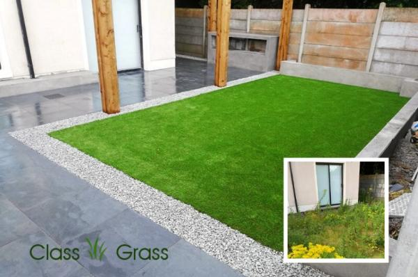 Garden-Makeover with Artificial Grass in Athlone