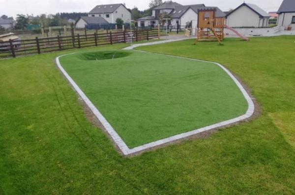 Beautiful Artificial Grass Transformation at Creche
