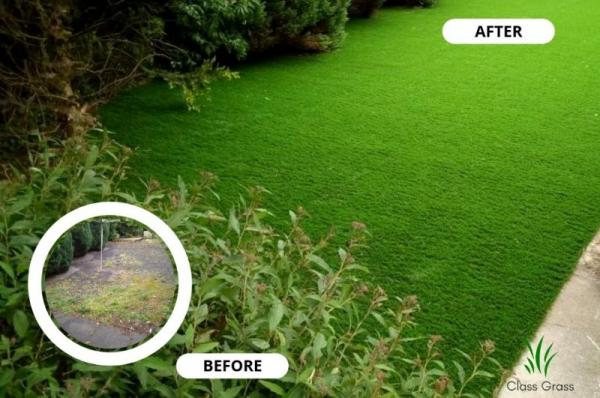 clean and quick artificial grass solution