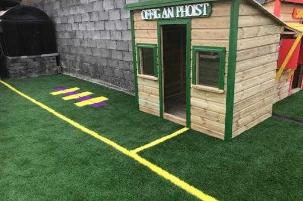 Synthetic Grass for Roscommon School