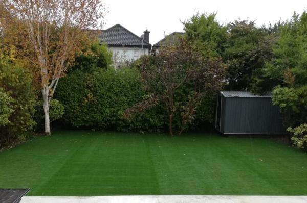 Artificial Grass Makeover - Residental Garden in Templeogue, Dublin