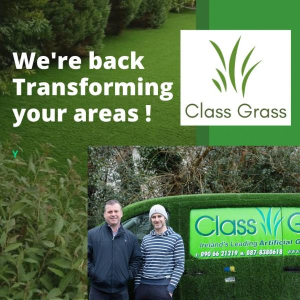Class Grass is Back!