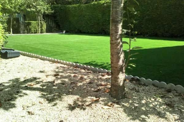 Residental artificial grass garden make over in Co Wicklow
